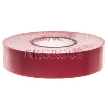 Taśma izolacyjna 228 0.19-19-20 PVC/czerwona 130619-178290
