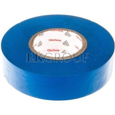Taśma izolacyjna 128 0.15-19-25 PVC/niebieska-178201