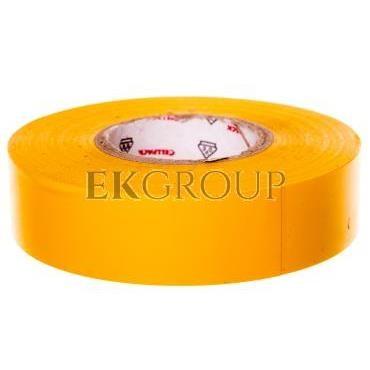 Taśma izolacyjna 128 0.15-19-25 PVC/żółta-178202