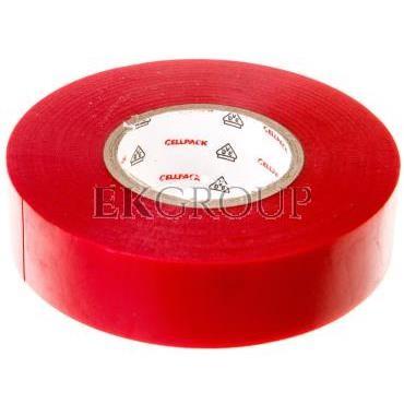 Taśma izolacyjna 128 0.15-19-25 PVC/czerwona-178203
