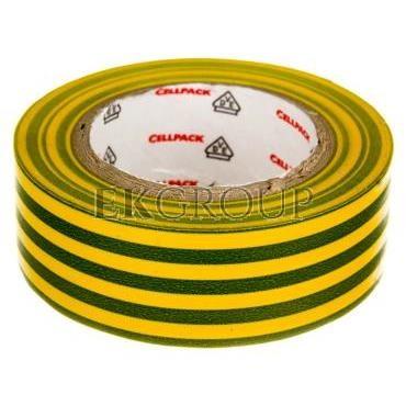 Taśma izolacyjna 128 0.15-19-10 PVC/zółto-zielona-178211