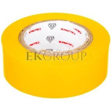 Taśma izolacyjna 128 0.15-19-10 PVC zółta 145811-178214