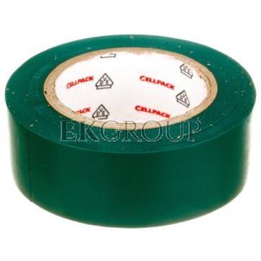 Taśma izolacyjna 128 0.15-19-10 PVC/zielona-178217