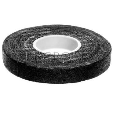 Taśma izolacyjna 15mm x 15m tekstylna /parciana/ czarna F6515-178236