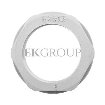 Nakrętka poliamidowa M25 KMK-PA ciemnoszara M25 94263-177010