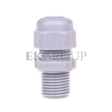 Dławnica kablowa poliamidowa M16 IP68 V-TEC VM L16 SGR srebrnoszara 2022924-175674