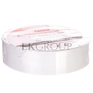 Taśma izolacyjna 19/20 biała TPVC_19-20-BIALA-178269