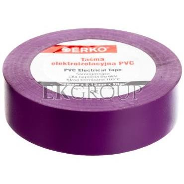 Taśma izolacyjna 19/20 fioletowa TPVC_19-20-FIOLET-178273