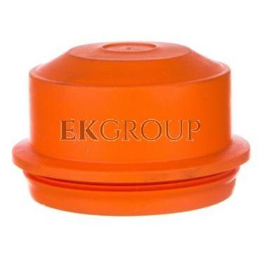 Dławnica wciskana IP66 M40 uszczelnienie 11-30 mm do puszek E30-E90 pomarańczowa EDKF 40 36001002-175914