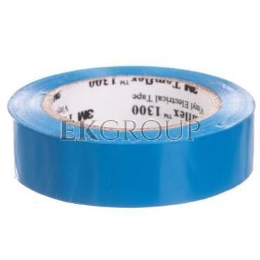 Taśma elektroizolacyjna Temflex 1300 niebieska 15mmx10m DE272962734/7000062614-178303