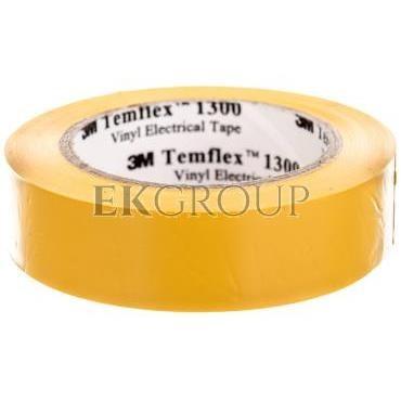 Taśma elektroizolacyjna Temflex 1300 żółta 15mmx10m DE272962700/7000062611-178304