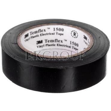Taśma elektroizolacyjna Temflex 1500 czarna 15mmx10m DE272950895/7000062271-178306