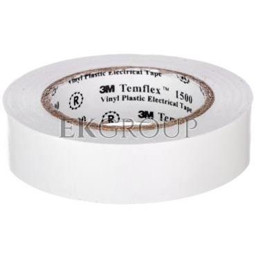 Taśma elektroizolacyjna Temflex 1500 biała 15mmx10m DE272950978/7000062279-178307