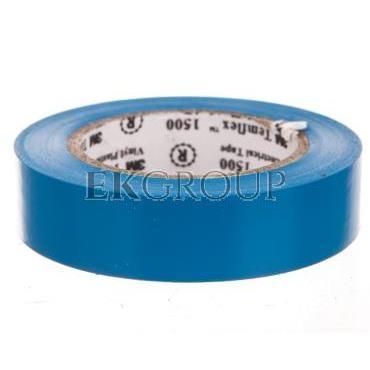 Taśma elektroizolacyjna Temflex 1500 niebieska 15mmx10m DE272950903/7000062272-178309