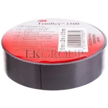 Taśma elektroizolacyjna Temflex 1500 szara 19mmx20m DE272951141/7000062296-178314