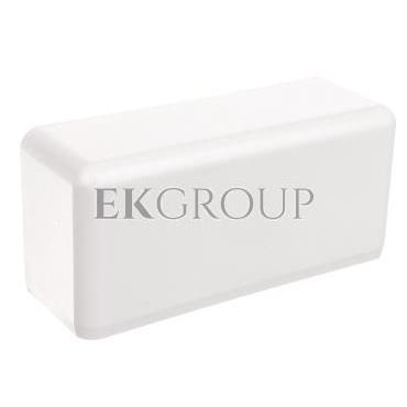 Pokrywa końcowa EKD 120x40mm biała 8581-178565