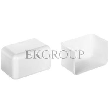 Pokrywa końcowa EKE 100x60mm biała 8551-178569