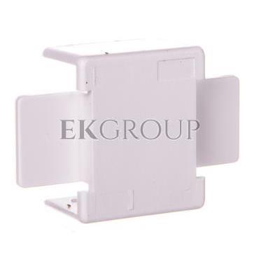 Łącznik prosty do kanałów kablowych GU 20x10 biały /2szt/ ECGU2010B-178969
