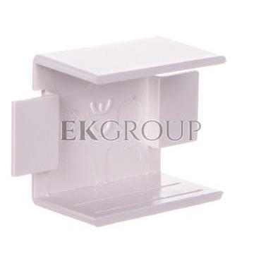 Łącznik prosty do kanałów kablowych GU 25x17 biały /2szt/ ECGU2517B-178974