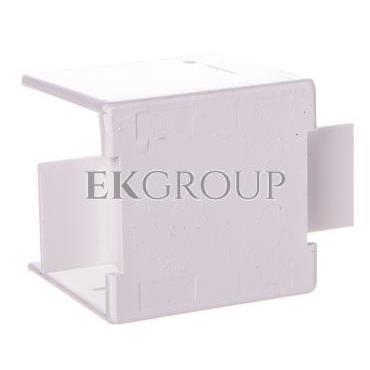 Łącznik prosty do kanałów kablowych GU 25x25 biały /2szt/ ECGU2525B-178975