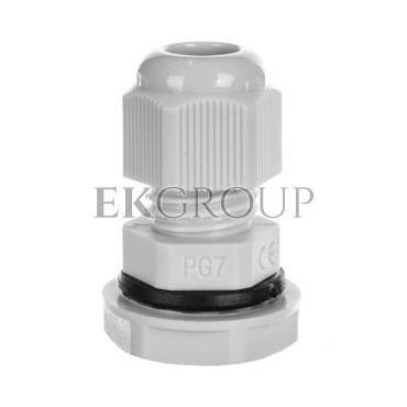 Dławnica kablowa PG7 bezhalogenowa dla kabla 3,5-6mm PG-7 89054002-176013