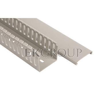 Korytko grzebieniowe 40x40 szare ECS4040 /2m/-176274