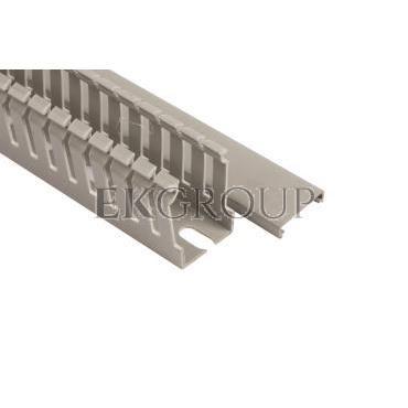 Korytko grzebieniowe 25x40 szare ECS2540 /2m/-176278