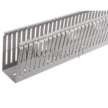 Korytko grzebieniowe 40x80 szare ECS4080 /2m/-176287
