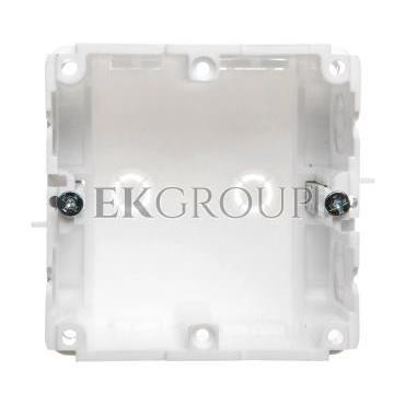 Puszka instalacyjna jednopolowa do kanałów elektroinstalacyjnych P1kn71x71 36070206-178075