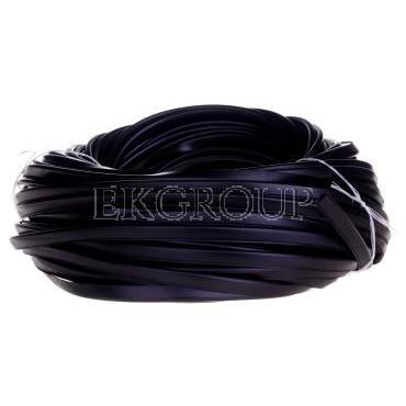 Osłona krawędzi z PCV czarna OKU3/1,5 E01PK-01060100500 /50m/-177486