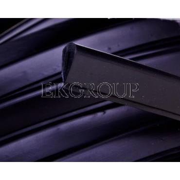 Osłona krawędzi z PCV czarna OKU3/1,5 E01PK-01060100500 /50m/-177487