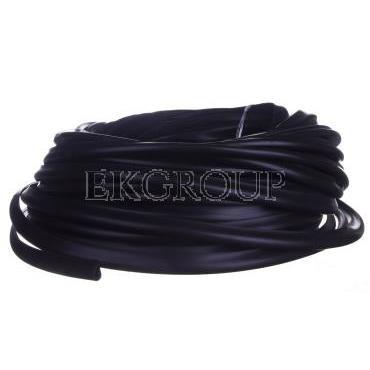 Osłona krawędzi z PCV czarna OKU 6/3 E01PK-01060101100 /25m/-177481