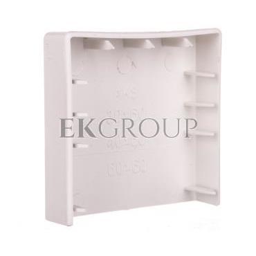 Zakończenie listwy elektroinstalacyjnej ZL 60x40 białe 68223-178484
