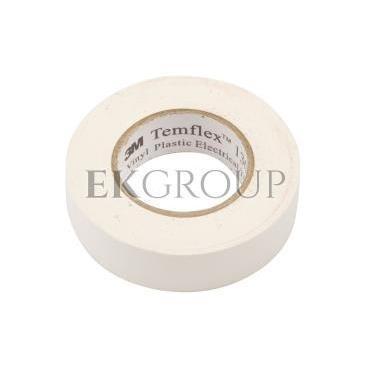 Taśma izolacyjna 19mm x 20m PVC Temflex 1300 biała DE272962825/7000062623-178146