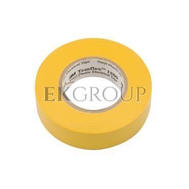 Taśma izolacyjna 19mm x 20m PVC Temflex 1500 żółta DE272951125/7000062294-178149