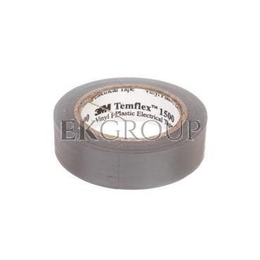 Taśma izolacyjna 15x10 TEMFLEX szary 1500 XE003411495/7000106667-178198