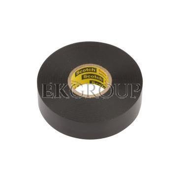 Taśma izolacyjna 19mm x 20m Scotch 33  czarna 80611207012/7000042541-178164