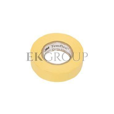 Taśma izolacyjna 19mm x 20m PVC Temflex 1300 żółta DE272962809/7000062621-178165