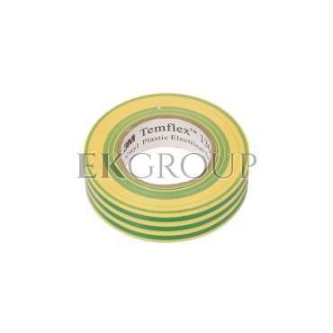 Taśma izolacyjna 19mm x 20m PVC Temflex 1300 zielono-żółta DE272962841/7000062625-178166
