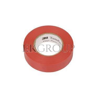 Taśma izolacyjna 19mm x 20m PVC Temflex 1300 czerwona DE272962791/7000062620-178171