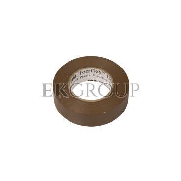 Taśma izolacyjna 19mm x 20m PVC Temflex 1300 brązowa DE272962866/7000062627-178172