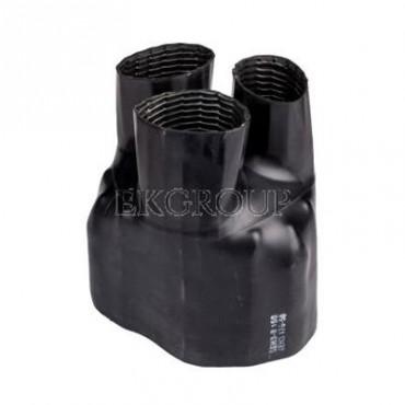 Palczatka termokurczliwa 70-240mm2 3-żyłowa SEH3-B 160 (czarna) 5-3002-177512