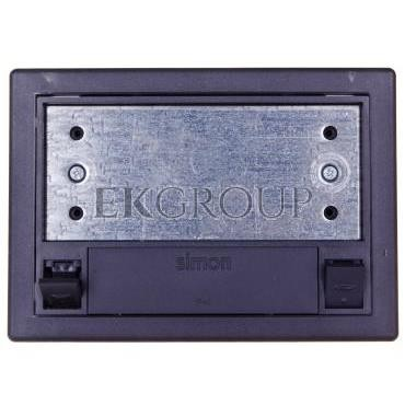 Simon Connect Puszka SF podłogowa pojedyncza 2xK45 szary grafit SF110/14-182284