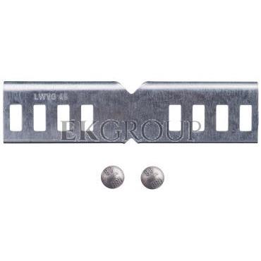 Łącznik kątowy drabinek kablowych H45mm LWVG 45 FS 6200882-179773