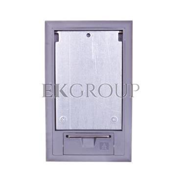 Kaseta podłogowa na osprzęt 3-modułowa szara GES2 DB 7011 7405100-179961