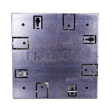 Kompletna kaseta z puszkami 6xM45, PA stalowo-szary RAL 7011 UD GES4-2 7011 7427460-179977