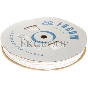 Profil okrągły PCV biały do nadruku DPO 3,6/200 biały E04ZP-04020300400-182943