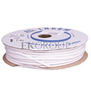 Profil okrągły PCV biały do nadruku DPO 4,2/40 biały E04ZP-04020300500-182944