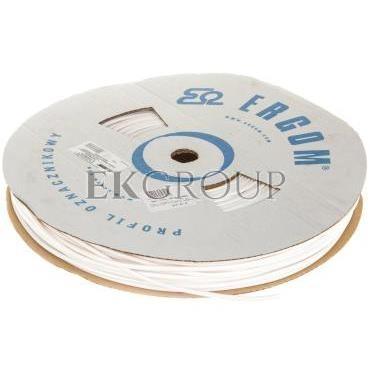 Profil okrągły PCV biały do nadruku DPO 4,2/160 biały E04ZP-04020300600-182980