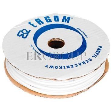Profil okrągły PCV biały do nadruku DPO 5,2/30 biały E04ZP-04020300700-182934